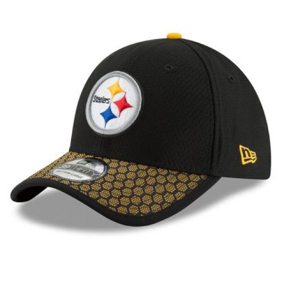 0749a348d8dce5 NFL Accessories | New Era Steelers 39thirty Sideline Hat | Poshmark